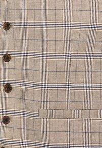 Burton Menswear London - CHECK WAISTCOAT - Gilet elegante - neutral - 2