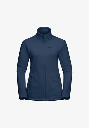 MIDNIGHT MOON - Fleece jacket - dark indigo