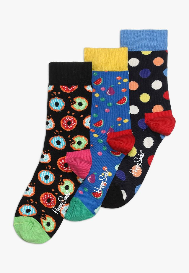 SMU FOOD CREW 3 PACK - Chaussettes - multi-coloured