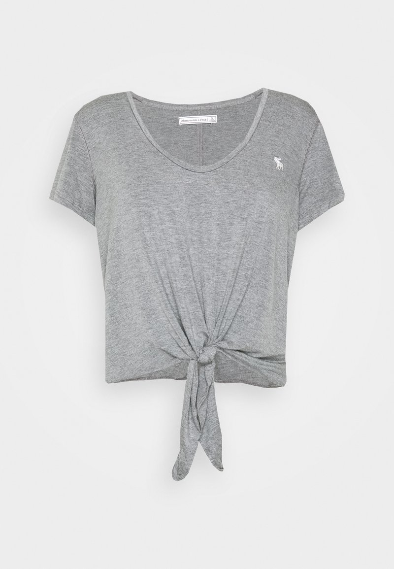 Abercrombie & Fitch - TEE - Print T-shirt - gray