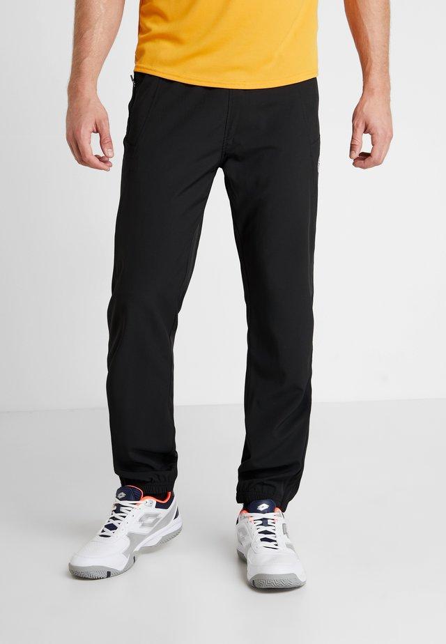 FLINN TECH PANT - Teplákové kalhoty - black