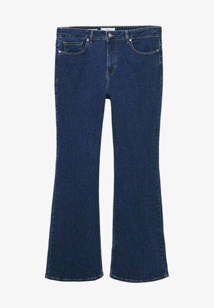 FLARE - Široké džíny - dunkelblau