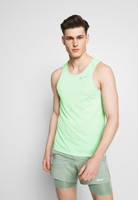 Nike Performance - RISE TANK - Sports shirt - pistachio frost - 0