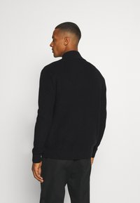 Tommy Jeans - BADGE HALFZIP - Pullover - black - 2