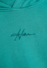 Hollister Co. - SOLID SCRIPT - Sweatshirt - green blue - 5