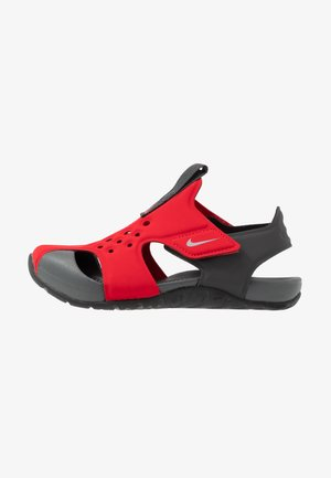 SUNRAY PROTECT 2 UNISEX - Sandály do bazénu - university red/anthracite/black