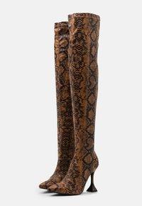 BEBO - HOPPER - High heeled boots - tan - 2
