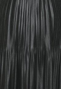 Esqualo - SKIRT - Pleated skirt - black - 2