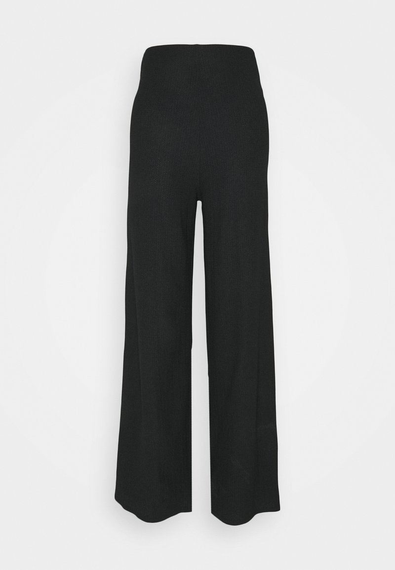 Wallis Tall - WIDE LEG TROUSER - Kalhoty - black