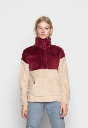 COASTAL ROUTE - Fleece jumper - tapioca