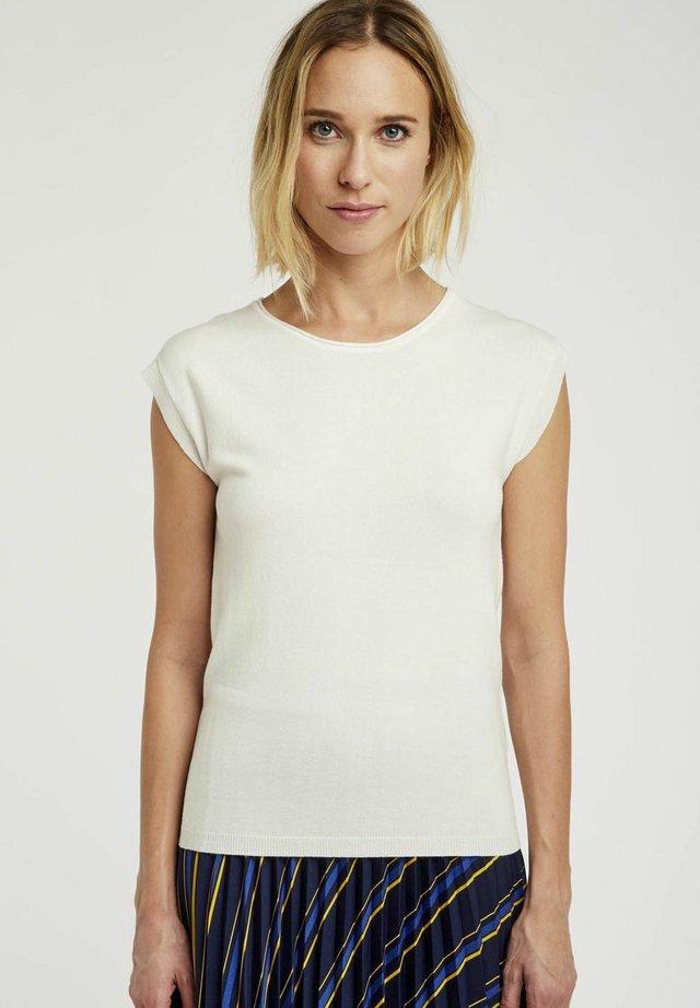 T-shirts print - ecru