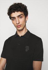 KARL LAGERFELD - Polo shirt - black - 3