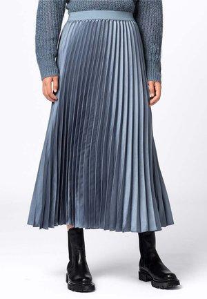 A-line skirt - rauchblau