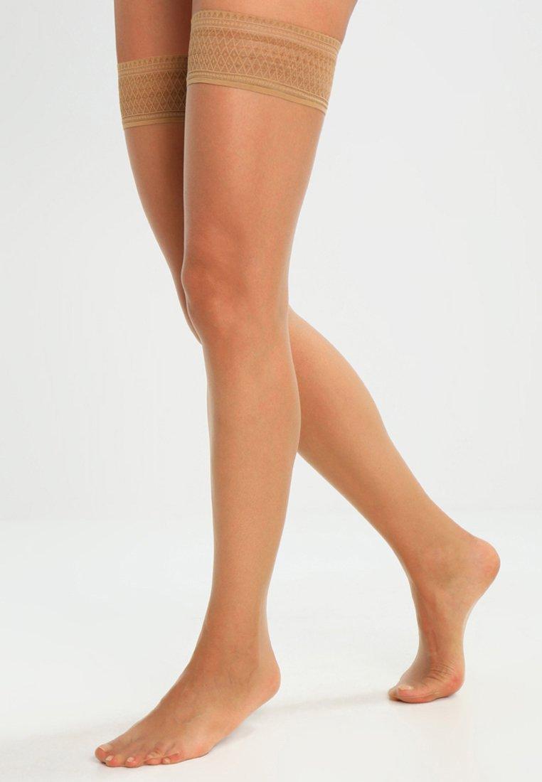 Hudson - 8 DEN LIGHT 8 - Over-the-knee socks - honey