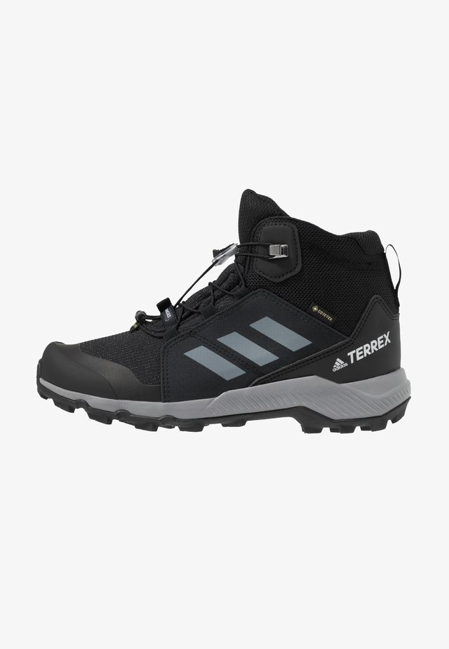 TERREX MID GORE-TEX - Hiking shoes - core black/grey three