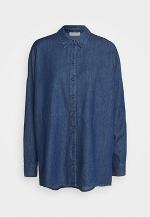 SLFMIRANDA - Button-down blouse - medium blue denim