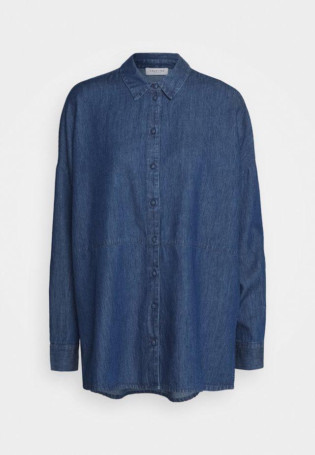 SLFMIRANDA - Overhemdblouse - medium blue denim