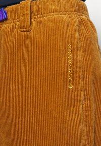 Converse - TRAIL PANT - Trousers - dark soba - 4