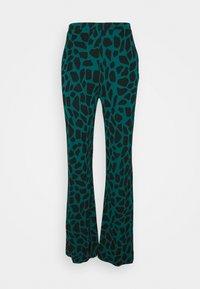 Diane von Furstenberg - CASPIAN PANTS - Trousers - medium teal - 3