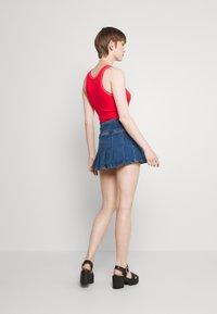 BDG Urban Outfitters - KILT SKIRT - Minijupe - dark vintage - 2