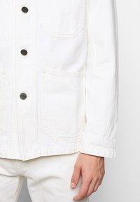 CLOSED - WORKER JACKET - Denim jacket - ivory - 6