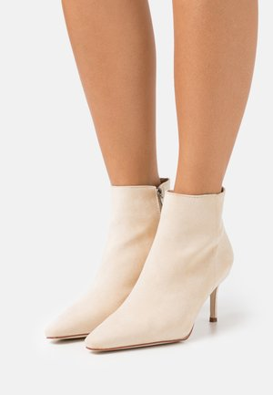 GRIME - Ankle boots - nude
