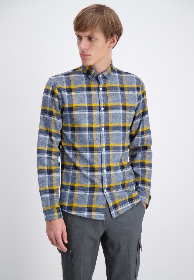 FLANNEL  - Camisa - dark blue