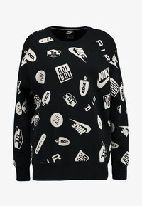 Nike Sportswear - CREW AIRMAX - Sweatshirt - black/white - 4