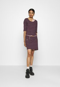 Ragwear - TANYA  - Jersey dress - wine red - 1