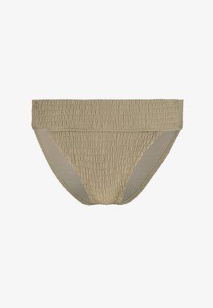 LEG PANT - Bikini bottoms - khaki
