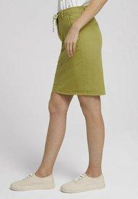 TOM TAILOR - Pencil skirt - gecko green - 3