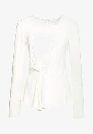 CAMICIA BLOUSE - Blouse - statue white