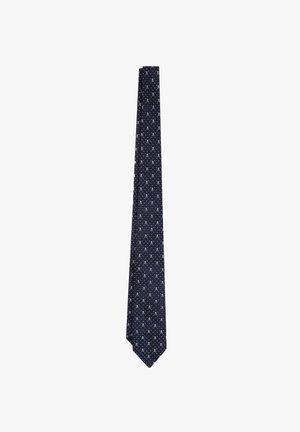 Tie - navy/grey