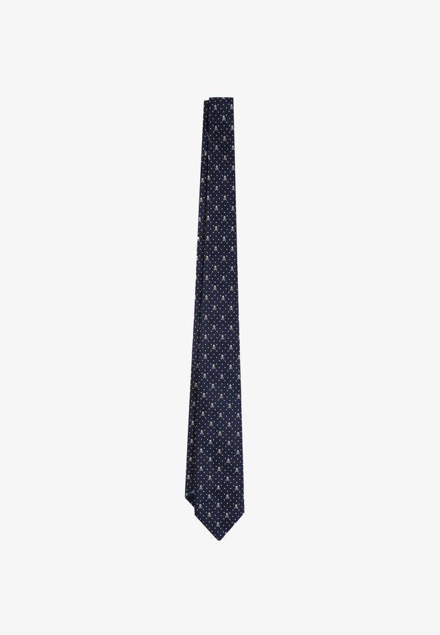 Cravatta - navy/grey