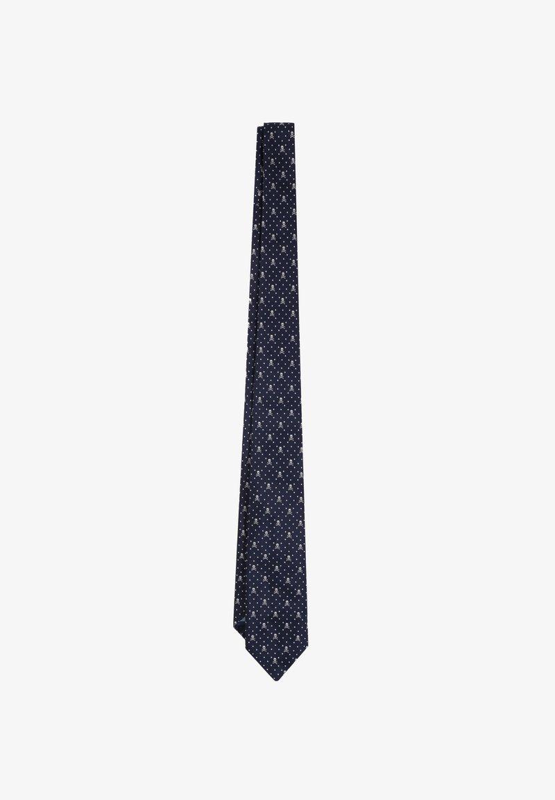 Scalpers - Tie - navy/grey