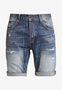 Antony Morato - SLIMBAART - Jeans Short / cowboy shorts - denim blue - 5