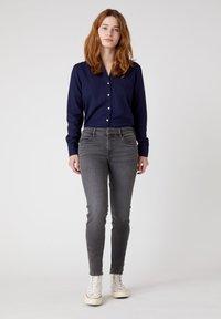 Wrangler - Button-down blouse - navy blue - 1
