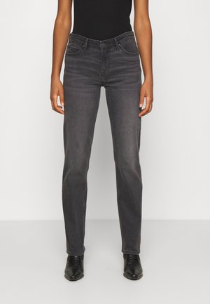 MARION STRAIGHT - Jeans a sigaretta - black flow