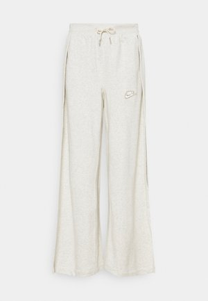PANT EARTH - Tracksuit bottoms - oatmeal heather/light bone