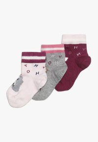 Tommy Hilfiger - BABY SOCK GIFTBOX BABY 3 PACK - Sokker - pink - 0