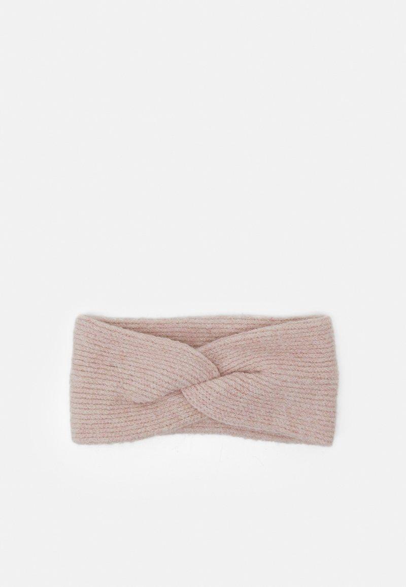 Pieces - PCBENILLA HEADBAND  - Ear warmers - misty rose