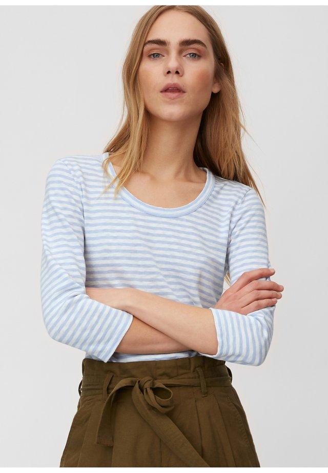 T-SHIRT, 3 4 SLEEVE, Y D STRIPE - Long sleeved top - multi/bleached blue