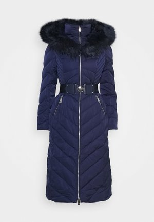 SOFIA LONG JACKET - Daunenmantel - blue jam
