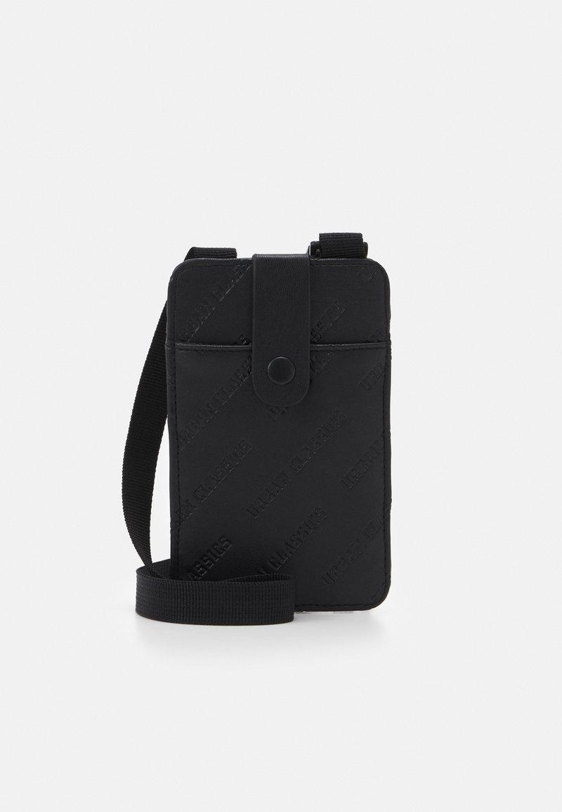 Urban Classics - HANDSFREE PHONECASE WITH WALLET - Phone case - black