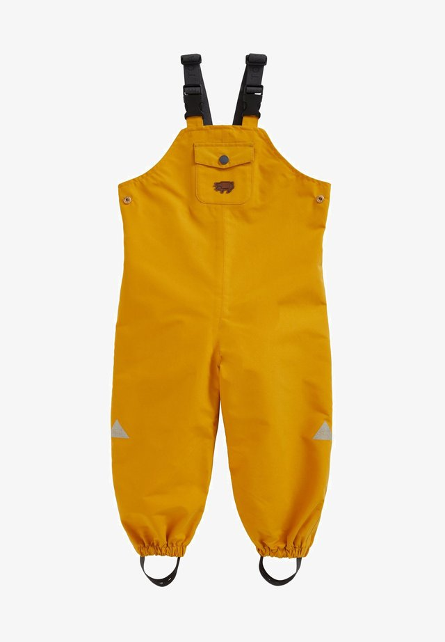 WATERPROOF DUNGAREES - Tuinbroek - yellow