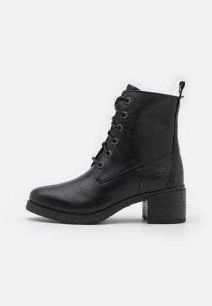 DALSTON VIBE BOOTIE ZIP - Šněrovací kotníkové boty - black