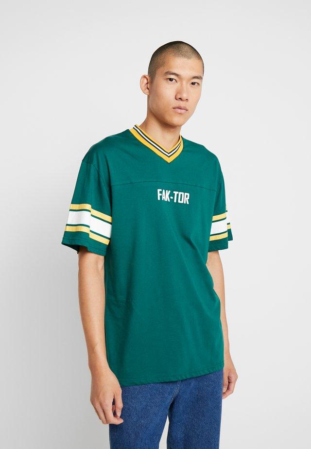 MATA TEE - T-shirts print - green