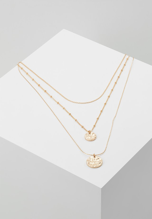 PCEIDA COMBI NECKLACE KEY - Necklace - gold-coloured