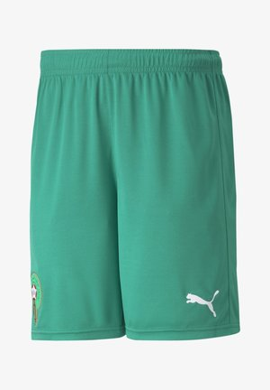 MOROCCO HOME REPLICA - Urheilushortsit - pepper green-puma white