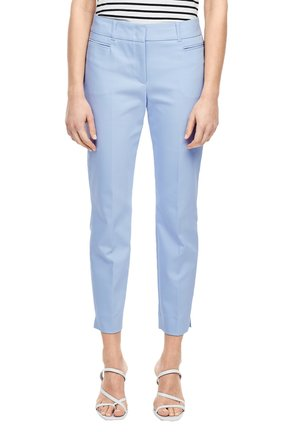 SLIM FIT: SLIM ANKLE LEG-HOSE - Chinos - sky blue